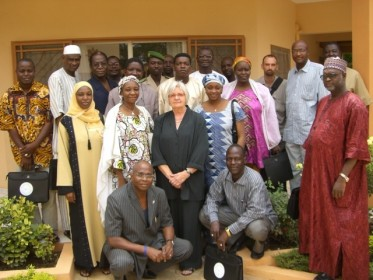 Hilfsaktion Fist Gruppe of doctor training for Noma:Niamey 2009